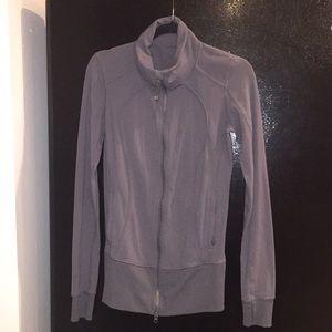 Lululemon size 6 grey jacket